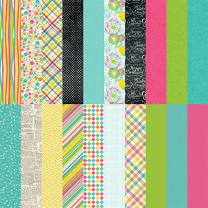 Picture of Party Brights by Katie Pertiet Designer Cardstock - Set 10